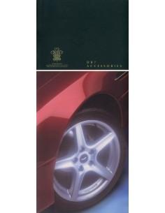 1998 ASTON MARTIN DB7 ACCESSOIRES BROCHURE ENGELS