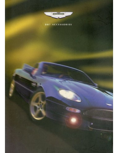 ASTON MARTIN DB ACCESSORIES BROCHURE ENGLISH - Aston martin accessories