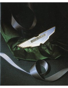 1995 ASTON MARTIN THE COLLECTION BROCHURE ENGELS