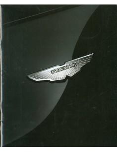 1995 ASTON MARTIN PROGRAMMA BROCHURE ENGELS