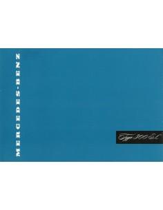 1955 MERCEDES BENZ 300 SL BROCHURE DUITS