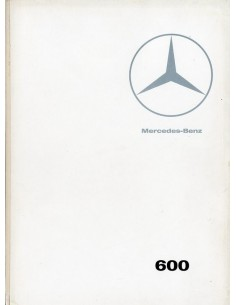 1966 MERCEDES BENZ 600 BROCHURE FRANS