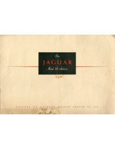 1951 JAGUAR TYPE MK VII SALOON BROCHURE FRANS