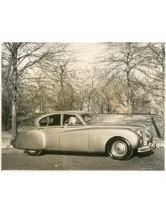 1950 JAGUAR MK VII SALOON PERSFOTO
