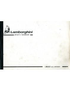 1988 LAMBORGHINI LM002 BIJLAGE INSTRUCTIEBOEKJE USA VERSIE