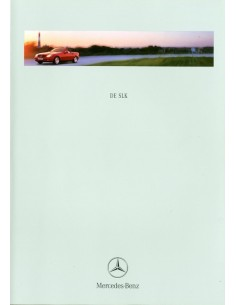 1998 MERCEDES BENZ SLK BROCHURE NEDERLANDS