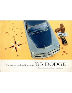 1955 DODGE PROGRAMMA BROCHURE ENGELS USA