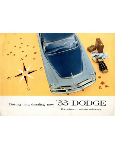1955 DODGE PROGRAMMA BROCHURE ENGELS USA