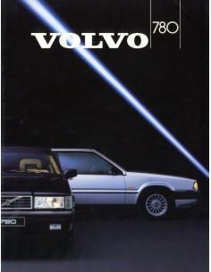 1987 VOLVO 780 BROCHURE NOORS