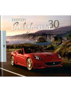 2012 FERRARI CALIFORNIA 30 HARDCOVER BROCHURE 4356/12
