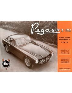 1953 PEGASO Z-102 LEAFLET ENGELS