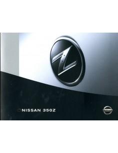 2003 NISSAN 350Z BROCHURE NEDERLANDS