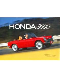1966 HONDA S600 BROCHURE ENGELS