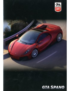 2012 GTA MOTOR SPANO BROCHURE ENGELS