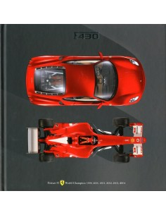 2004 FERRARI F430 MEDIA HARDCOVER BROCHURE 2125/04