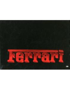 1984 FERRARI PROGRAMMA PERSMAP ENGELS 325/84
