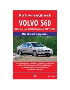 2001 - 2005 VOLVO S60 BENZINE & DIESEL VRAAGBAAK NEDERLANDS