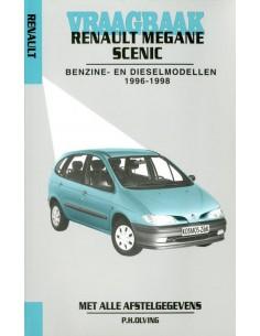 1996 - 1998 RENAULT MEGANE SCENIC BENZINE DIESEL VRAAGBAAK NEDERLANDS