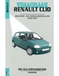1998 - 2000 RENAULT CLIO BENZINE DIESEL VRAAGBAAK NEDERLANDS