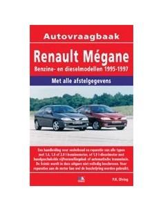 1995 - 1997 RENAULT MEGANE BENZINE DIESEL VRAAGBAAK NEDERLANDS