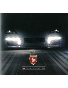 2011 GUMPERT APOLLO BROCHURE DUITS