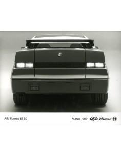 1989 ALFA ROMEO ES 30 (SZ) PERSFOTO