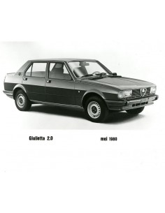 1980 ALFA ROMEO GIULIETTA 2.0 PERSFOTO