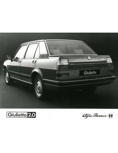 1983 ALFA ROMEO GIULIETTA 2.0 PERSFOTO