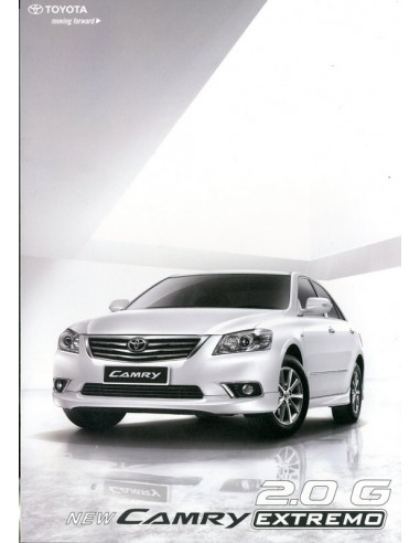 2009 TOYOTA CAMRY 2.0G EXTREMO BROCHURE THAIS