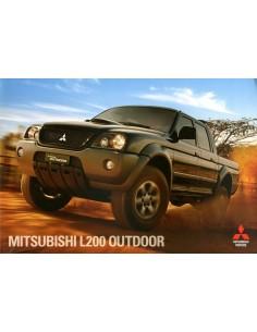 2012 MITSUBISHI L200 OUTDOOR BROCHURE PORTUGEES