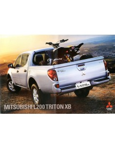 2012 MITSUBISHI L200 TRITON XB BROCHURE PORTUGEES
