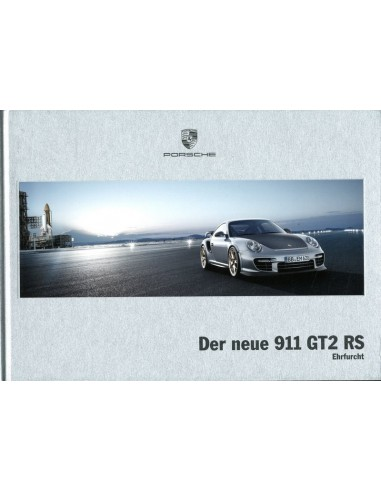 2010 porsche 911 gt2 rs hardcover brochure duits. Black Bedroom Furniture Sets. Home Design Ideas