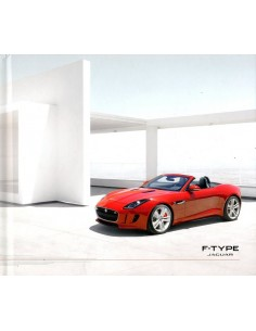 2012 JAGUAR F TYPE MEDIA HARDCOVER BROCHURE ENGELS