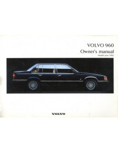volvo 940 automotive literature europe rh autolit eu Volvo 960 Reliability 1995 volvo 940 owners manual pdf