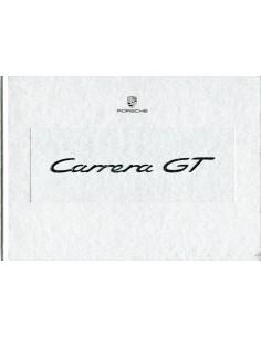 2003 PORSCHE CARRERA GT HARDCOVER BROCHURE DUITS