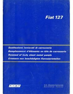 1975 FIAT 127 VERNIEUWEN VAN CARROSSERIE-DELEN HANDBOEK