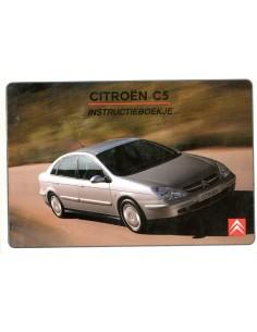 2002 CITROEN C5 INSTRUCTIEBOEKJE NEDERLANDS