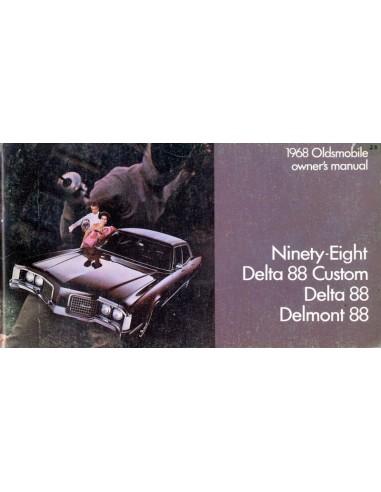 1968 oldsmobile owners manual handbook english rh autolit eu 1970 Delta 88 Delta 98
