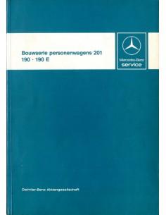1982 MERCEDES BENZ 190 E WERKPLAATSHANDBOEK ORIGINEEL