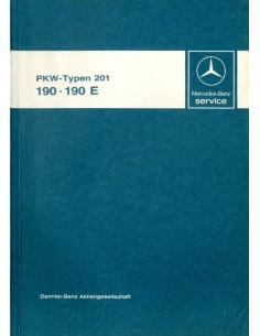 1982 MERCEDES BENZ 190 E WERKPLAATSHANDBOEK DUITS