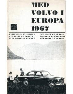 1967 VOLVO EUROPA SERVICE HANDLEIDING