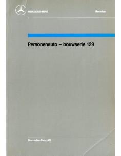 1989 MERCEDES BENZ SL KLASSE WERKPLAATSHANDBOEK NEDERLANDS