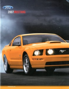 2007 FORD MUSTANG BROCHURE ENGELS USA