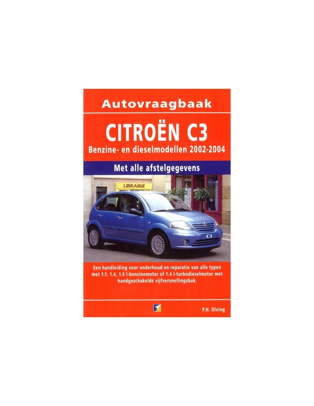 2002 2004 citroen c3 handbook dutch rh autolit eu Citroen C3 Trunk Inteior Citroen C3 2016 Manual