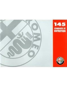 1998 ALFA ROMEO 145 INSTRUCTIEBOEKJE FRANS