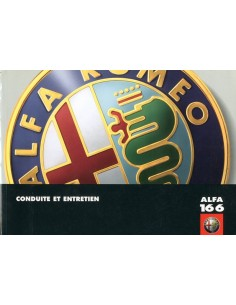 1998 ALFA ROMEO 166 OWNERS MANUAL FRENCH