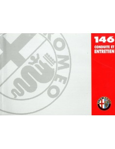 1999 ALFA ROMEO 146 INSTRUCTIEBOEKJE FRANS