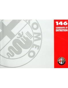 1998 ALFA ROMEO 146 INSTRUCTIEBOEKJE FRANS