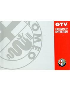 1998 ALFA ROMEO GTV INSTRUCTIEBOEKJE FRANS