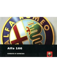 2004 ALFA ROMEO 166 OWNERS MANUAL FRENCH